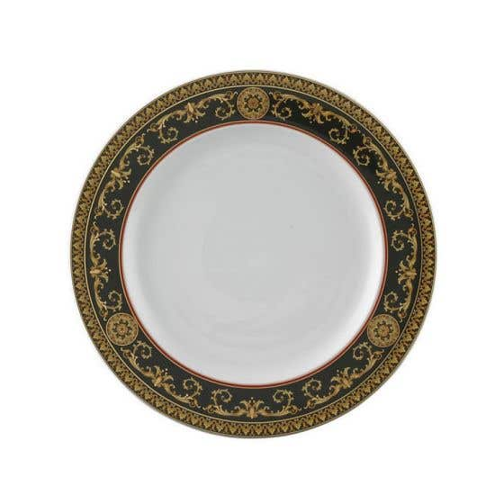 "Versace Medusa Red 10.5"" Dinner Plate"