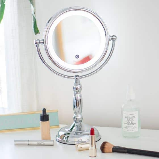 Touch Button LED Mirror 10X