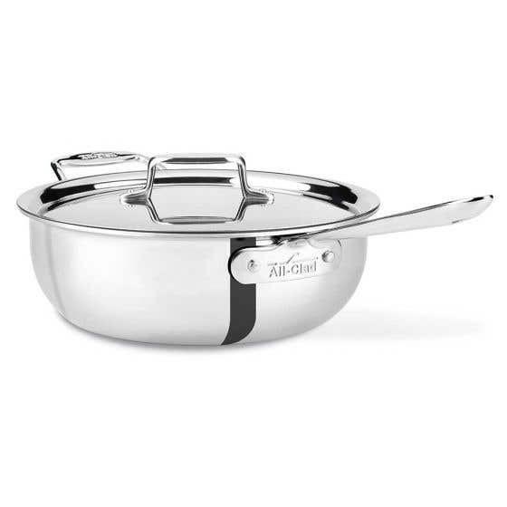 Polished Stainless Steel Essential Pan by All-Clad