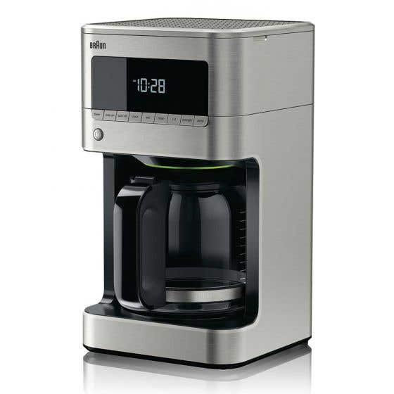 Stainless Steel Braun Coffee Machine