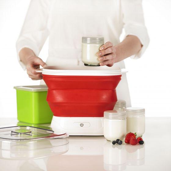 Collapsible Yogurt Maker