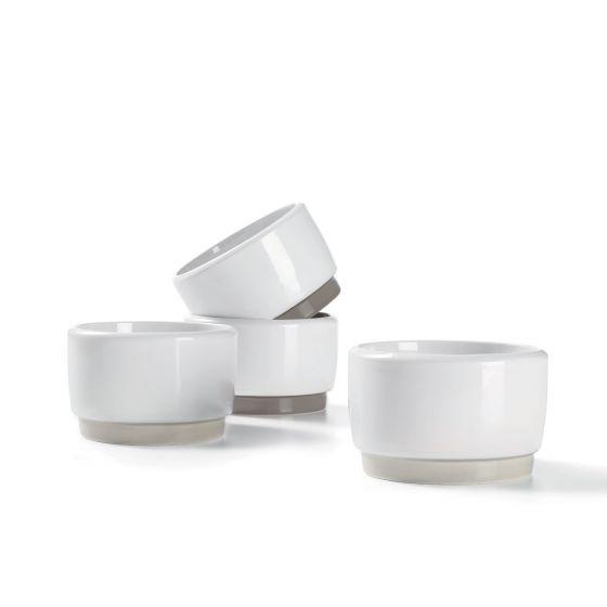 Set of 4 Ricardo Large Ceramic Ramekins