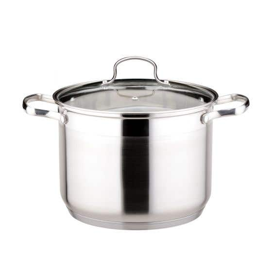 Stockpot with Cover 16L by Josef Strauss