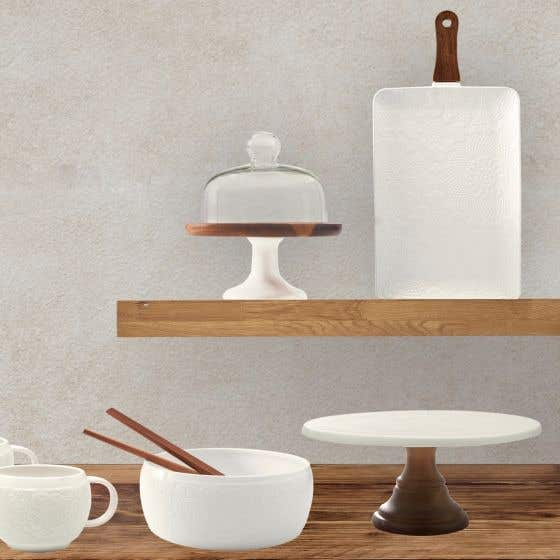 Chalet Chic Serveware Collection by Natural Living
