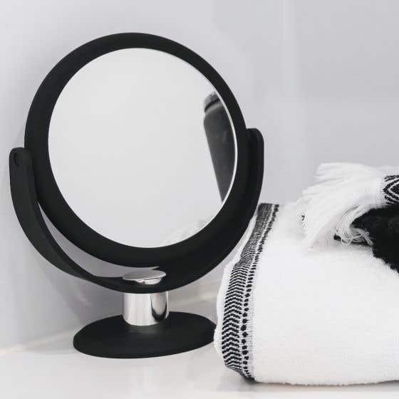 Soft Touch Round Vanity Mirror