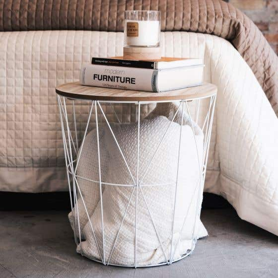 Yara Accent Table with Storage