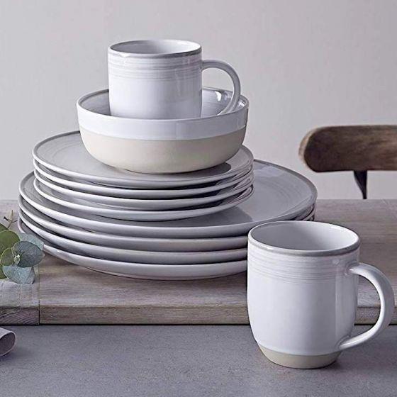 Ellen DeGeneres 16-Piece Brushed Glaze Dinnerware Set by Royal Doulton