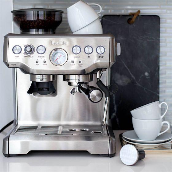 Machine à espresso et à cappuccino Breville «Barista Express» inox