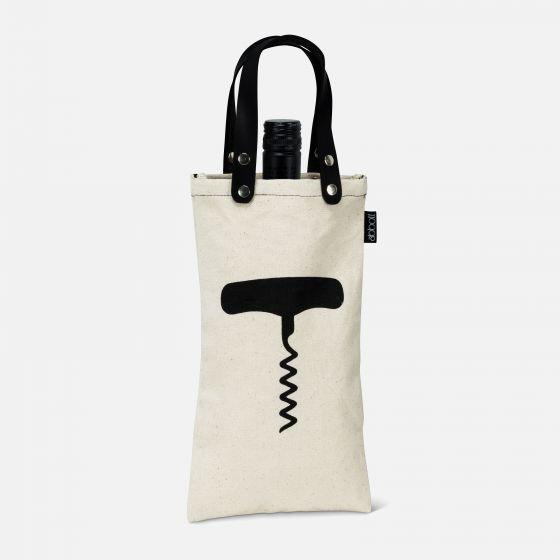 """""""Corkscrew"""" Bottle Bag"""