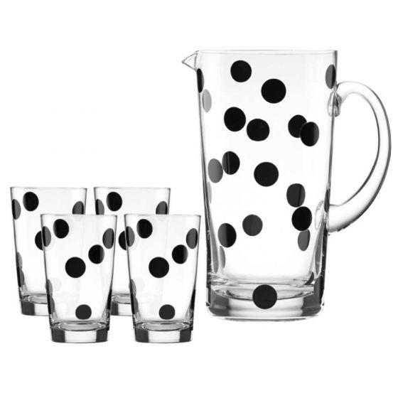Kate Spade Deco Dot Beverage Collection