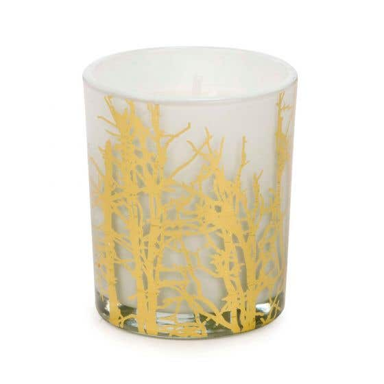 Gold Foliage Candle
