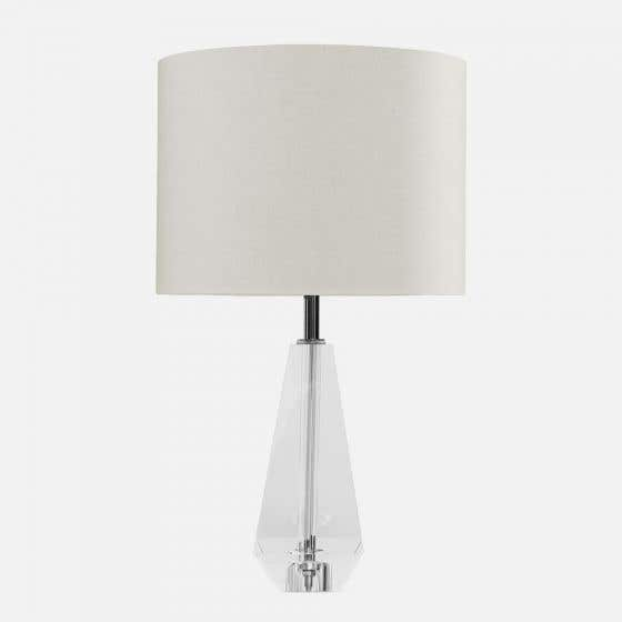 Audrey White Table Lamp