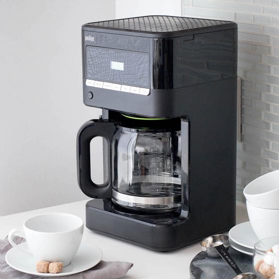 Braun BrewSense Drip Coffee Maker in Black