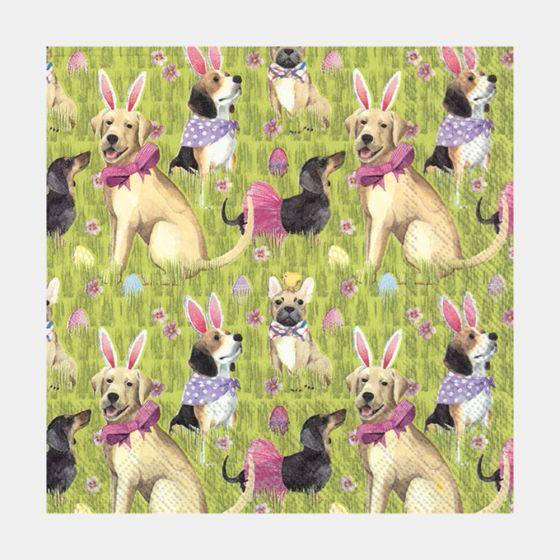 Bunny Dogs Table Napkins