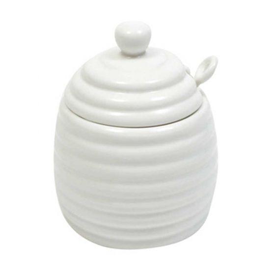 Pot de miel avec cuillère par Maxwell Williams