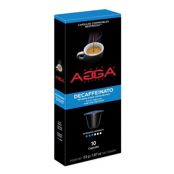 Agga Coffee Capsules Decaffeinato