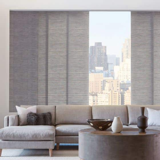 Custom Skyline® Gliding Window Panels by Hunter Douglas
