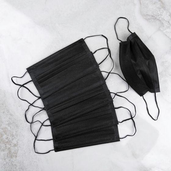 Boîte de 50 masques jetables Guardian - Noirs