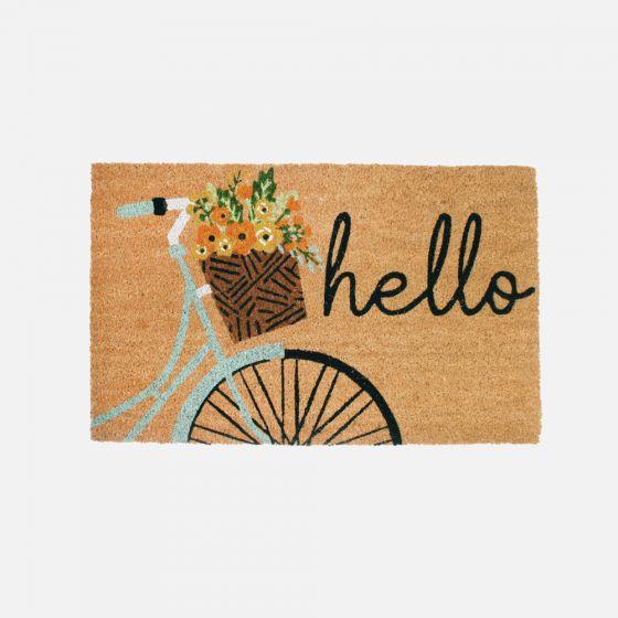 Paillasson « Hello Bicycle »