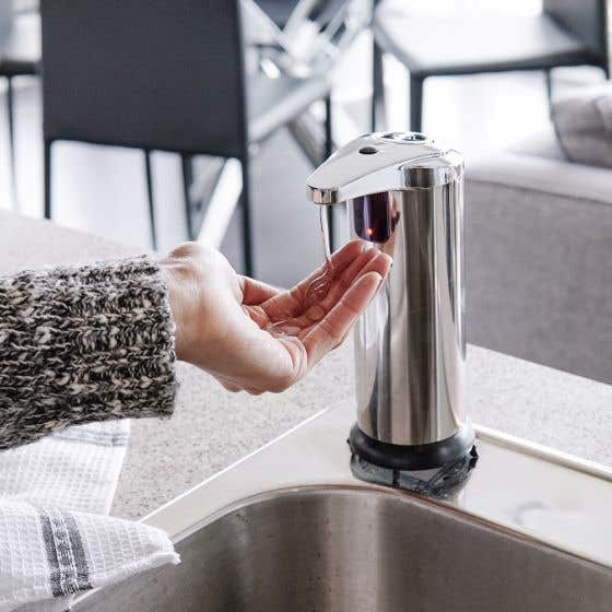 Touchless Soap and Lotion Dispenser