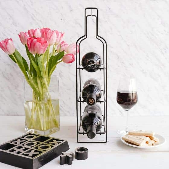 Savoy Metal Wine Rack by Torre & Tagus