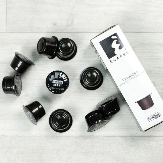 Capsules de café Caffitaly «Ecaffe» - Vigoroso