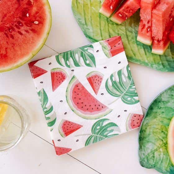 Watermelons Table Napkins
