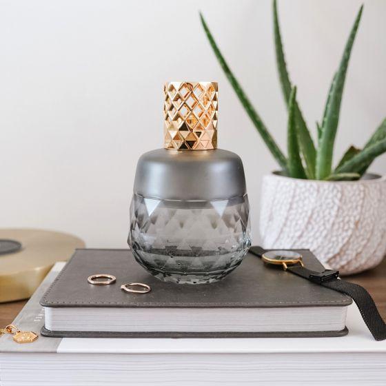 Clarity Grey Berger Lamp