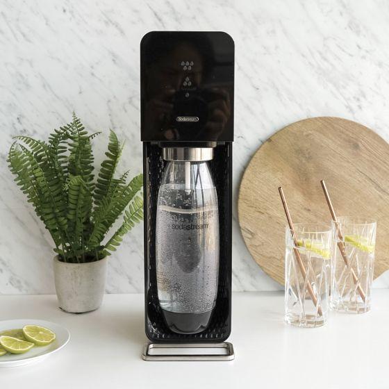 Source Black Sparkling Water Maker