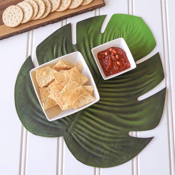 Napperon en vinyle « Green Leaf »