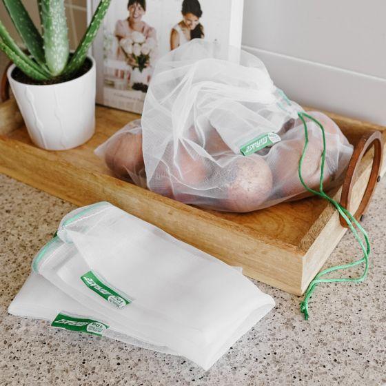 Paquet de 3 sacs en filet réutilisables Mirage