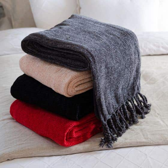 Lounge Chenille Throw