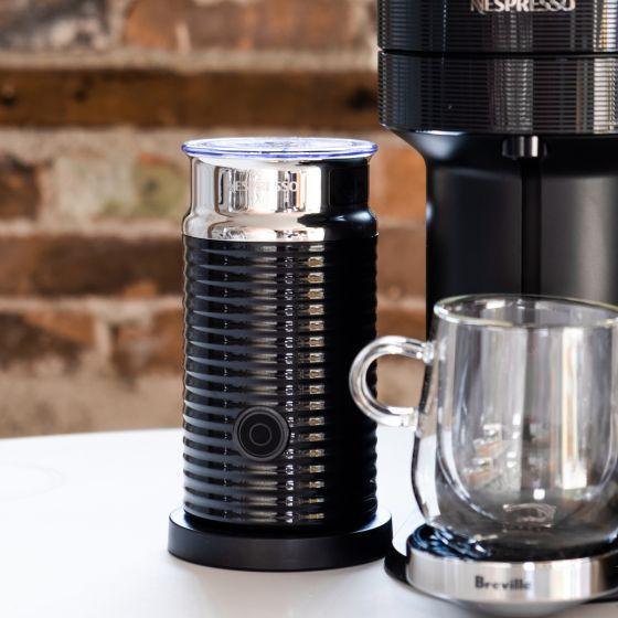 Nespresso Aeroccino 3 Black Milk Frother