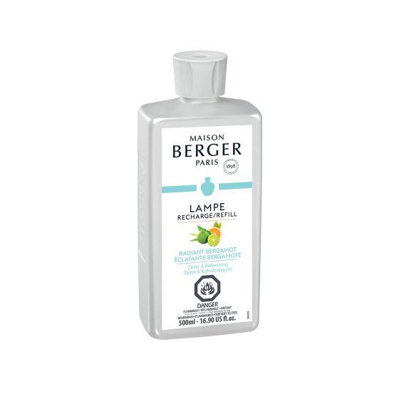 Recharge pour lampe Berger «Éclatante bergamote» – 500ml