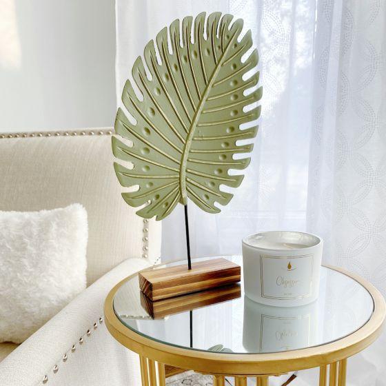Green Leaf Tropical Decoration