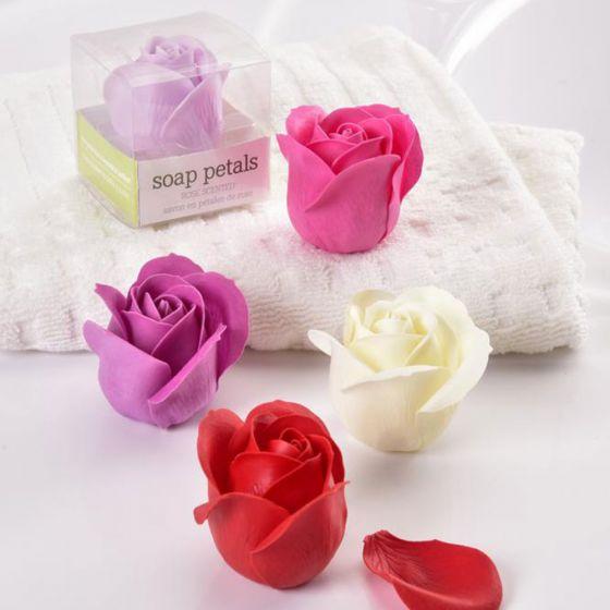 Savon en pétales de rose