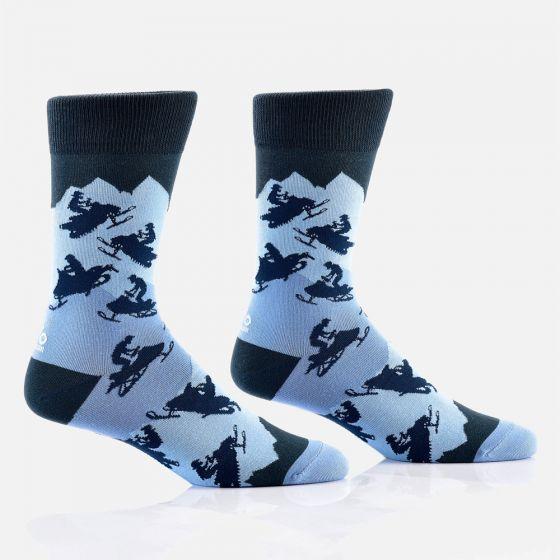 Chaussettes pour hommes « Snowmobile »