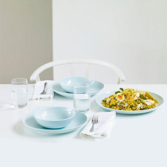 Gordon Ramsay Maze Blue 16-Piece Dinnerware Collection