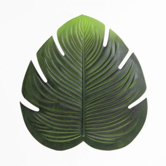 Green Leaf Vinyl Placemat