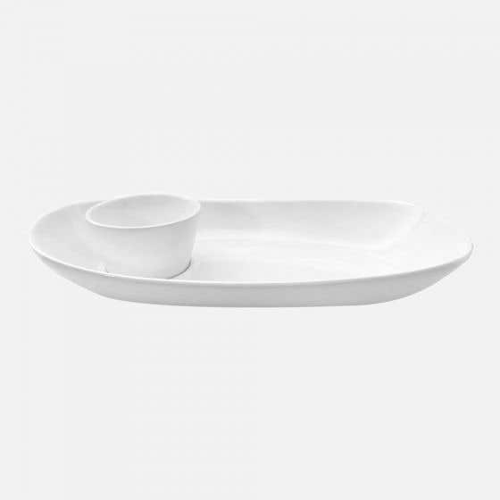 Large Chip & Dip Plate
