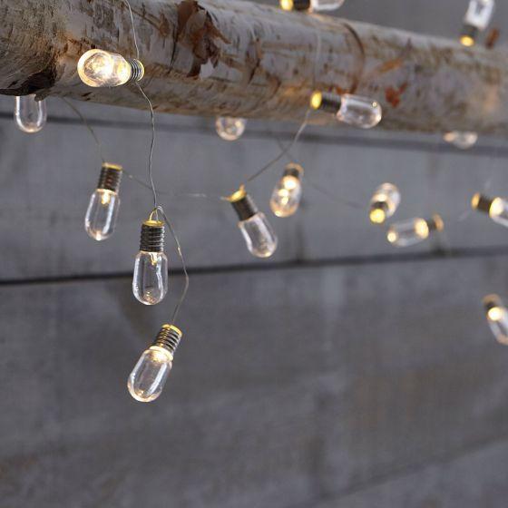 Long LED String Light Bulbs by Harman