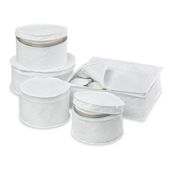 Ensemble de rangement 5 pièces pour vaisselle