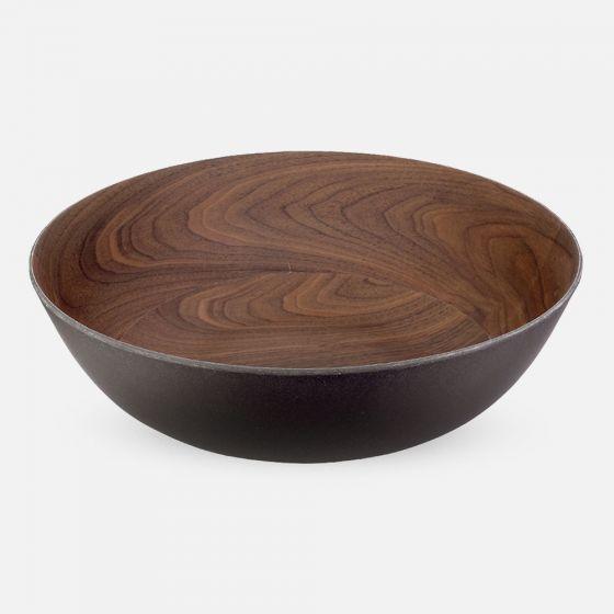 Bamboo Walnut Coffee Bowls by Brilliant