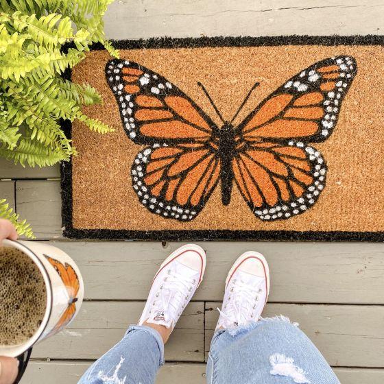 Paillasson « Monarch Butterfly »