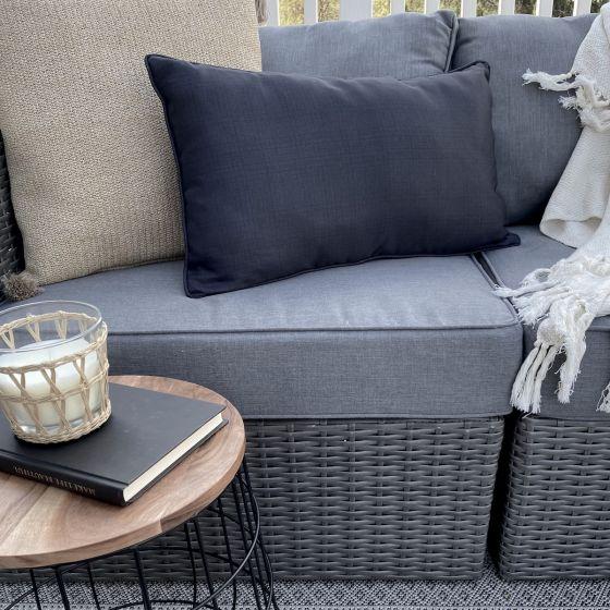 Alfresco Solid Corded Cushion