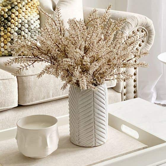Vase collection «Herringbone»