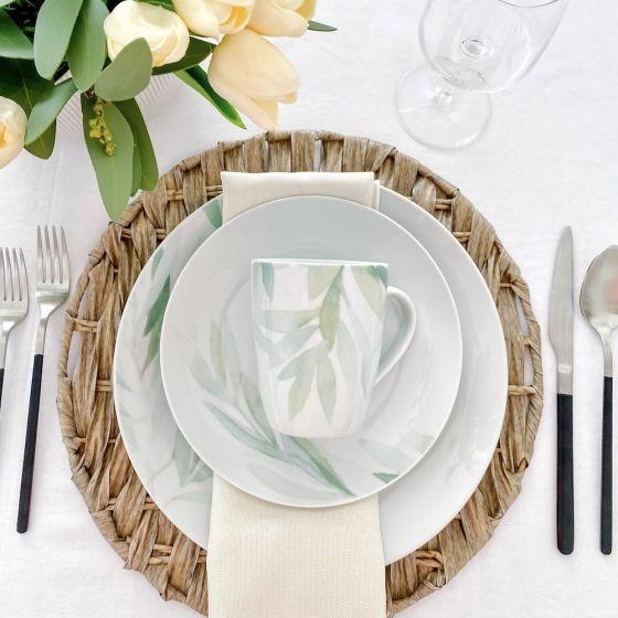 Foliage 16-Piece Dinnerware Set