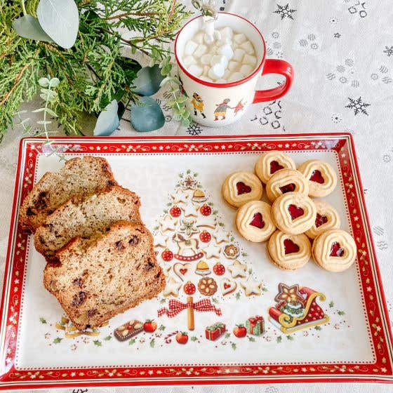 "Winter Bakery Delight Cake Plate - Large (15.25"")"
