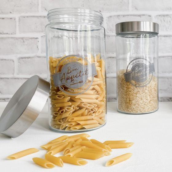 """""""Bon Appétit"""" Decorated Jar"""