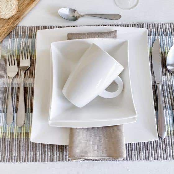 East Meets West 16-Piece Dinnerware Set by Maxwell & Williams